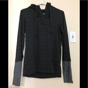 MPG Sports Black Jacket Hoodie medium